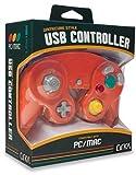 Cirka Premium GameCube-Style USB Controller for PC/ Mac (Crimson-Red)