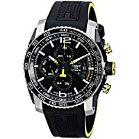 Tissot PRS 516 Automatic Chronograph Men's Watch (Black)