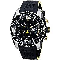 Tissot PRS 516 Automatic Chronograph Men's Watch (Black)