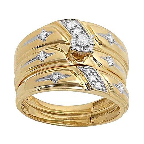 Buy hi and her wedding ring set