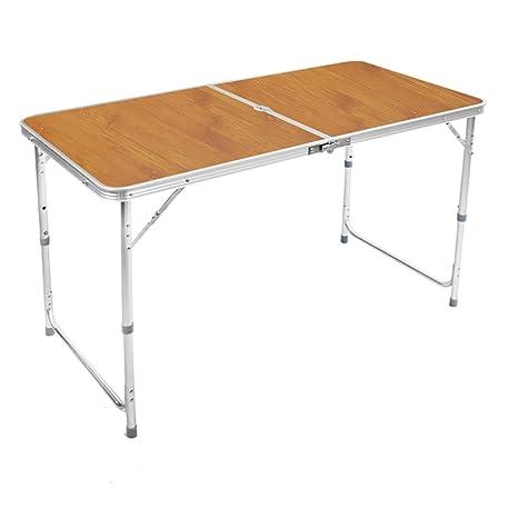 Jia He Mesa plegable Tabla y sillas plegables de madera que ...