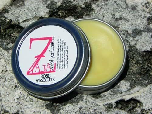 Rose Absolute Solid Perfume by ZAJA Natural - 1 oz 100% Natural