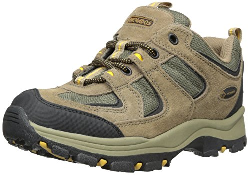 Nevada Leather (Nevados Men's Boomerang II Low Trail Shoe, Brown/Black/Yellow, 10 M US)
