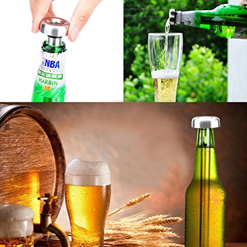 SUJING Stainless Steel Beer Chiller Sticks Wine Drink Chillers Stick Cools Beer Cooling Tool Cooling Chill (Stone Drain Replacement Cap)