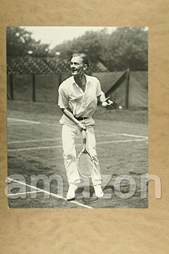 Vintage Photo of GEORGE LOTT Playing tennis by MMGvintage_Photos