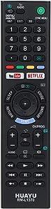Gvirtue Universal Remote Control RMT-TX300P for All Sony Bravia LCD LED TV Sub RMT-TX300B RMT-TX300U RMT-TX300E RMF-TX200B RMF-TX200U RMF-TX201U RMF-TX220U RMF-TX300B RMF-TX310B RMF-TX300U RMF-TX310U