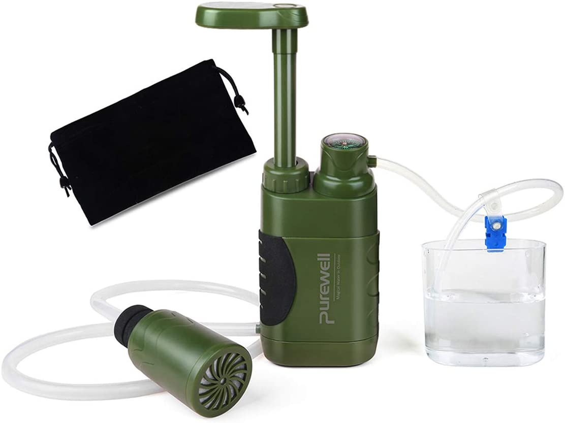 Purewell 4 Filter Stages Pump Water Filter