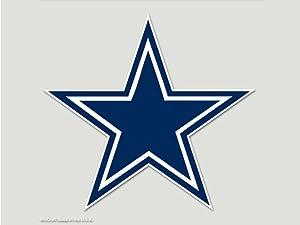 WinCraft NFL Dallas Cowboys Perfect Cut Color Decal, 8