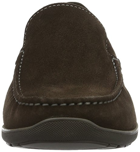 Ecco Mens Dallas Moc Mocassino Marrone (5072 Caffè)
