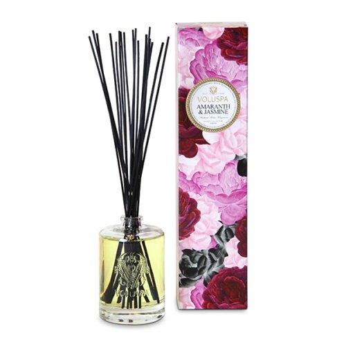 Jasmine Vintage Perfume (Voluspa Amaranth and Jasmine Home Ambience Diffuser, 6 Ounce)