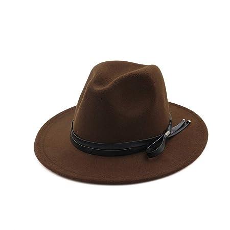 Sombreros y gorras Sombrero de Jazz Suede Wide Brim Spring Fieltro ...