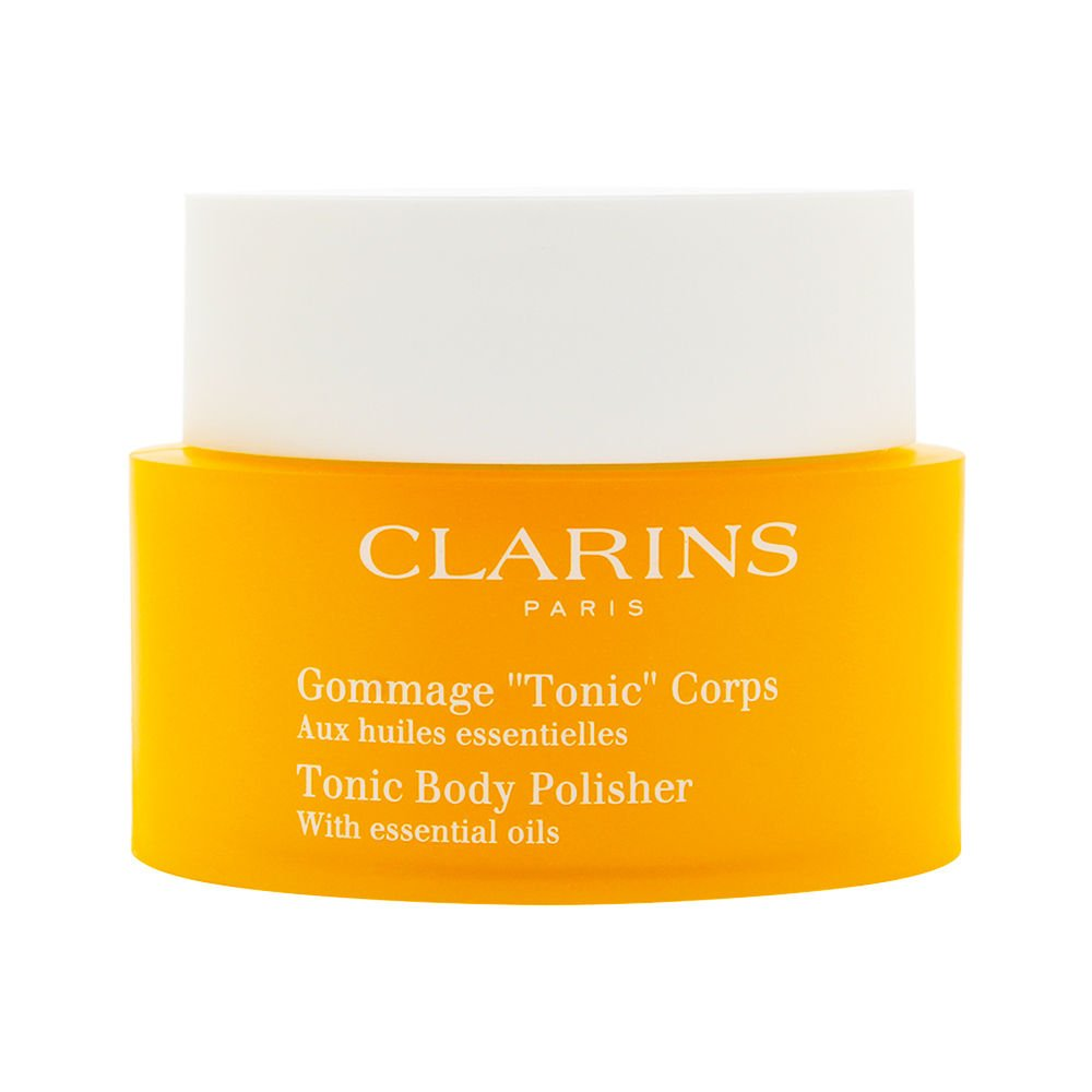 Clarins Tonic Bath And Shower Concentrate Part - 15: Clarins Toning Body Polisher With Oil, 8.8-Ounce