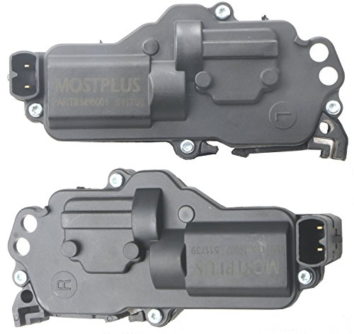MOSTPLUS New Power Door Lock Actuators Left & Right For Ford Excursion/Expedition/F150 Heritage Truck/Truck/F250/F350/F450/F550/Five Hundred/Freestar F81Z25218A42AA F81Z25218A43AA (Set of 2)
