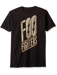 FEA Mens Foo Fighters Slanted Logo Mens Soft T-Shirt