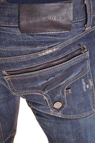 Richmond Homme MCBI256106O Bleu Coton Jeans