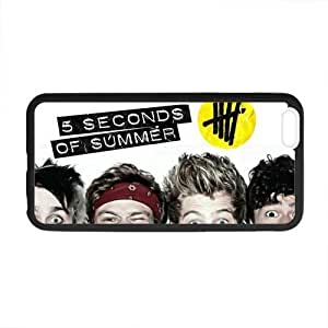 Custom Cool 5 Seconds of Summer 5SOS Phone Case Laser Technology for iPhone 6 Plus Designed by HnW Accessories