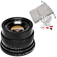 7artisans 35mm F2 Manual Focus Prime Fixed Lens Full Frame Available for Sony Emount Cameras - Black