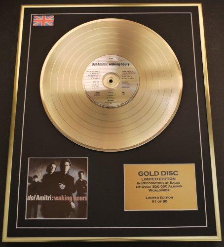 Del Amitri/ltd. Edition CD Gold Disc/record/waking Hours