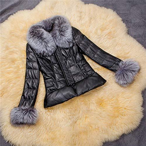 Zipper Zipper Zipper Femmes Manteaux Manteaux Manteaux Vkreal Hiver Patchwork Décontracté Faux Épais pUFSnS