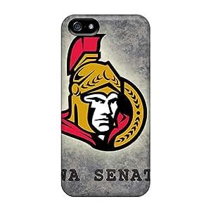 Flexible Tpu Back Case Cover For Iphone 6 plus - Ottawa Senators