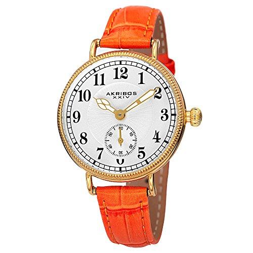 Orange Leather Strap - 8