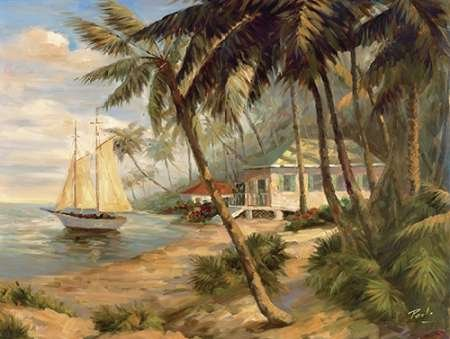 Bolo Key West Hideaway - Posterazzi Poster Print Collection Key West Hideaway Poster Print by Bolo (18 x 24), Multicolored