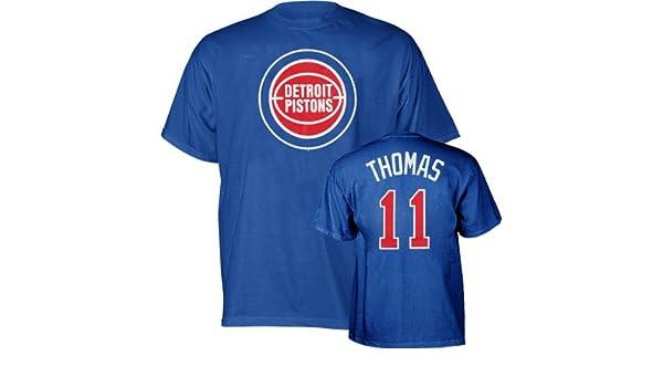 Majestic Isaiah Thomas Detroit Pistons NBA Player T-shirt camisa: Amazon.es: Deportes y aire libre