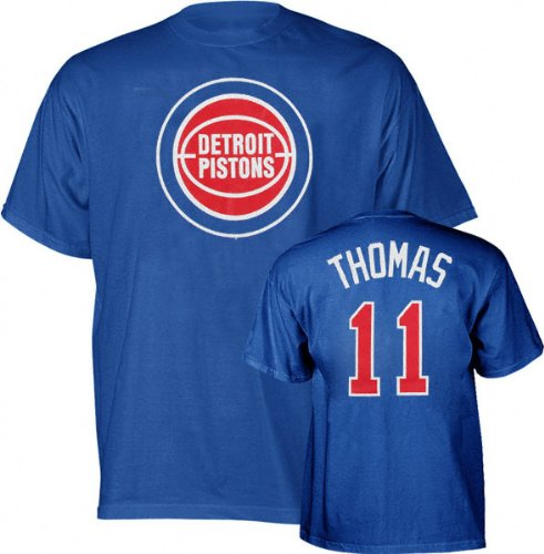 Majestic Isaiah Thomas Detroit Pistons NBA Player T-shirt camisa: Amazon.es: Deportes y aire libre