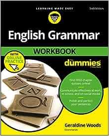 English grammar for dummies book