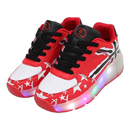 b4ecf74130b962 SDSPEED Kids Roller Skates Shoes Girls Boys Roller Shoes Wheel Shoes Roller  Sneakers Shoes with Wheels LED   Non-LED
