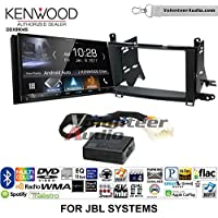 Volunteer Audio Kenwood DDX9904S Double Din Radio Install Kit with Apple CarPlay Android Auto Bluetooth Fits 2009-2015 Toyota Venza with Amplified System