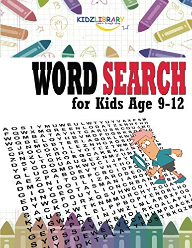 (Word Search for Kids Age 9-12: 60 Easy Large Print Word Find Puzzles for Kids: Jumbo Word Search Puzzle Book (8.5