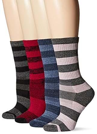 Kirkland Signature Womens Trail Sock (4-Pack) One Size Cerise
