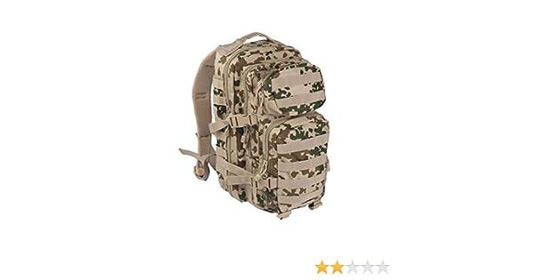 3188eec7bd9 Amazon.com : Mil-Tec Assault Pack Tactical Backpack 20L Tropical Camo :  Sports & Outdoors