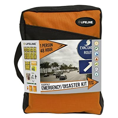 Lifeline 4045 Orange (1 Person 48 Hour) Essential Emergency Disaster Preparedness kits