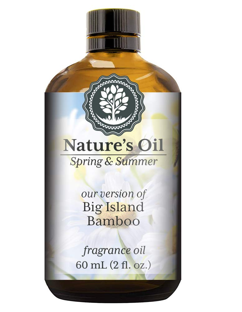 Big Island Bamboo Fragrance Oil (60ml) For Diffusers, Soap Making, Candles, Lotion, Home Scents, Linen Spray, Bath Bombs, Slime