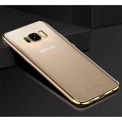 Amazon.com: Carcasa de silicona para Samsung Galaxy S5 S6 S7 ...