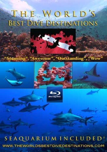 The Worlds Best Dive Destinations & Seaquarium BRD, The world's first ever visual dive guide to the world's best scuba diving locations. A DIVERS BEST PRESENT!