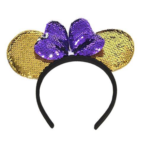 LUVE Purple Minnie Mouse...