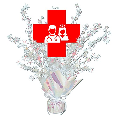 NURSE CENTERPIECE (Nurse Party Decorations)
