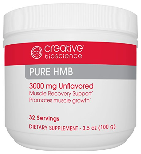 Creative Bioscience Pure HMB Supplement, 3.5 Ounce