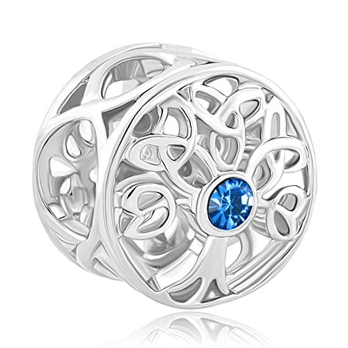 CoolJewelry Sterling Silver Family Tree Of life September...