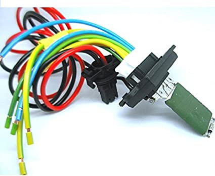 QDI 2 - Resistencia de motor de ventilador con cableado/conector ...