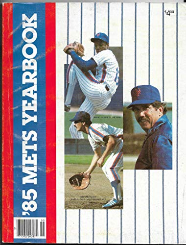 1985 New York Mets Yearbook With Story About A Century Of Baseball In New York