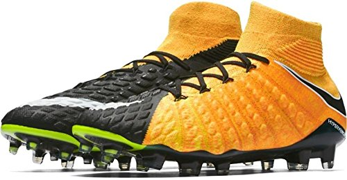 Nike Mens Hypervenom Phantom III DF FG Soccer Cleat (Sz. 10.5) Laser Orange.  ‹ › 15dd4eb47191