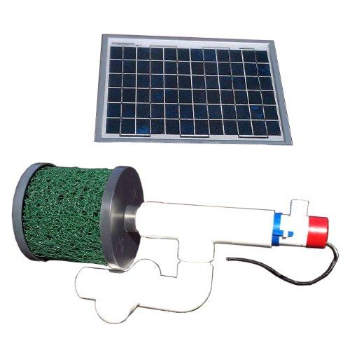 Natural Current Savior Bottom Feeder Pond Solar Pump and Filter System, 20-watt (Filter Solar Pond)