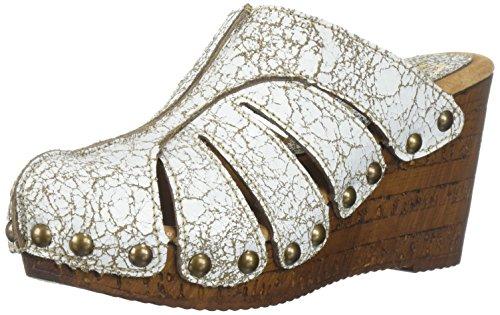 Sandalo Con Zeppa Elementale Da Donna Di Sbicca Bianco