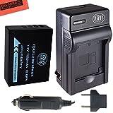 BM Premium NP-W126 Battery and Charger Kit for Fujifilm FinePix X-Pro1, X-Pro2, HS30EXR, HS33EXR, HS35EXR, HS50EXR, X-A1, X-A2, X-E1, X-E2, X-E2S, 1 X-M1, X-T1, X-T10 Digital Camera