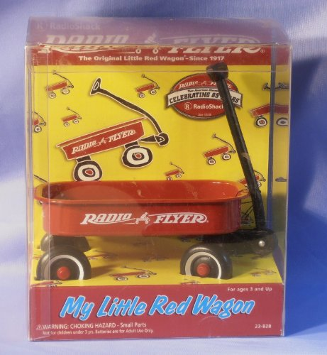My Little Red Flyer: miniature collectible Radio (Radio Flyer Miniature)
