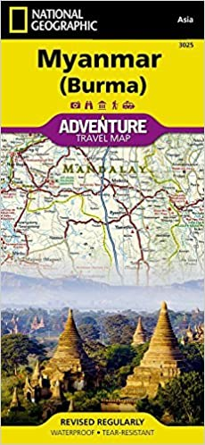Myanmar online ereader books texts ebookers free download myanmar burma national geographic adventure map by national gumiabroncs Image collections